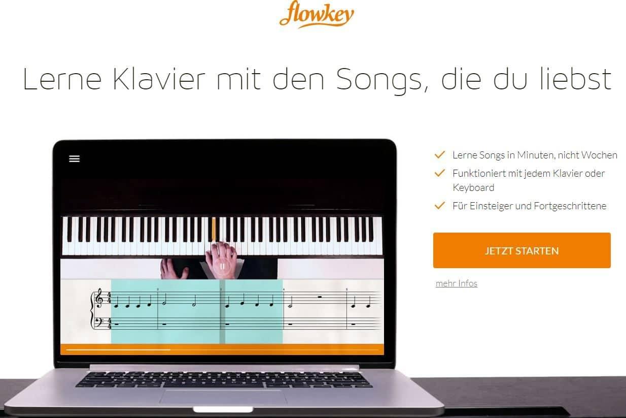 Flowkey Test durch tanul.org